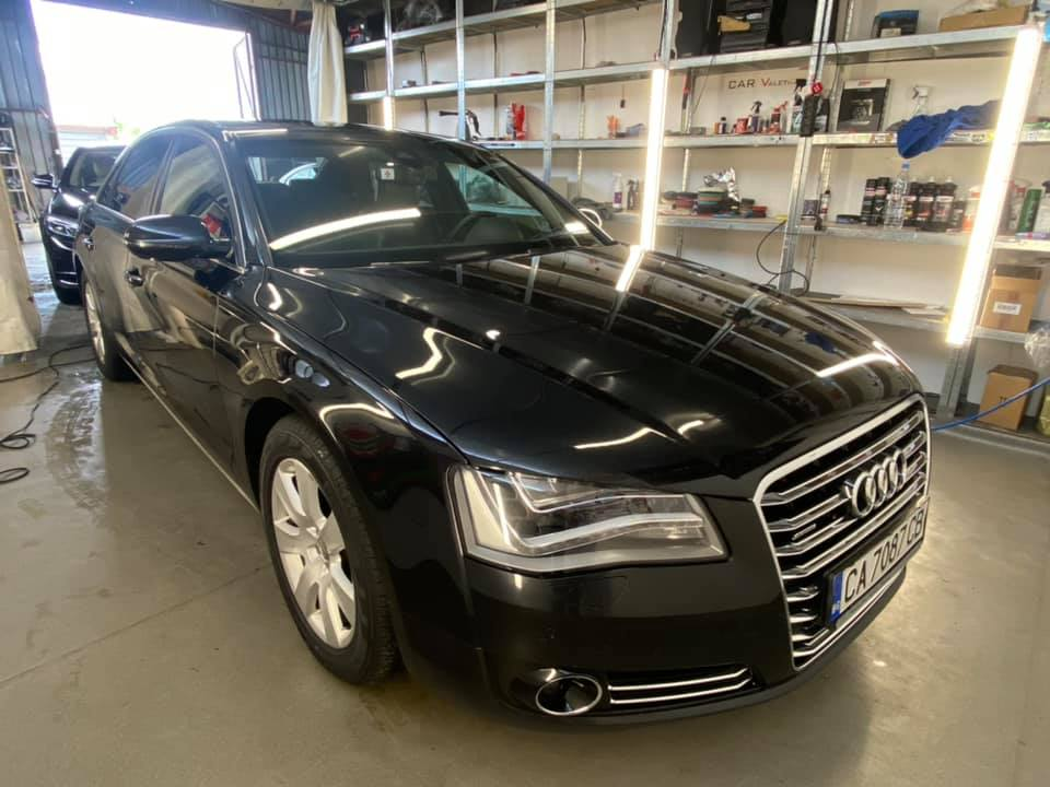 detailling na audi a8