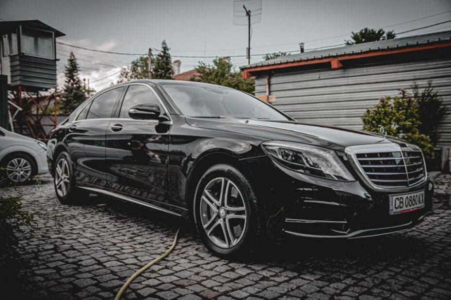 Детайлинг на Mercedes Benz S-класа