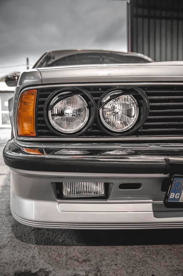 Пастиране на ретро автомобил BMW E24 635CSI