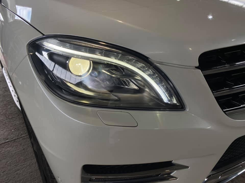 Polirane na farove na Mercedes ML W166