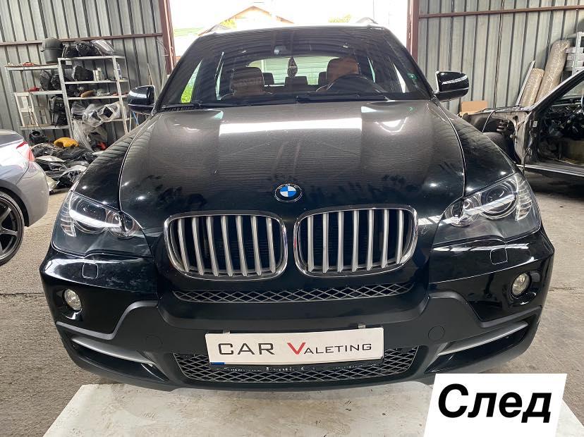 Проблем със запотени фарове на BMW X5