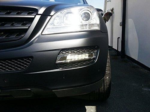 Проблем със запотени фарове на Mercedes ML W164